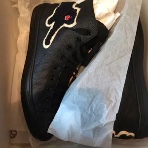 Gucci high top panthers sneakers
